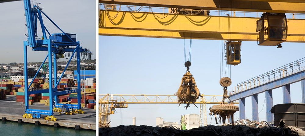 Crane and Material Handling, Reeling and Festoon Cables