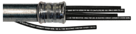 UL 2196 Certified Fire Resistive Cable for Survivability in a Fire